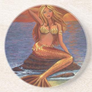 Mermaid Sunset - Coasters