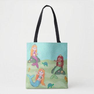 Mermaid swimming bag