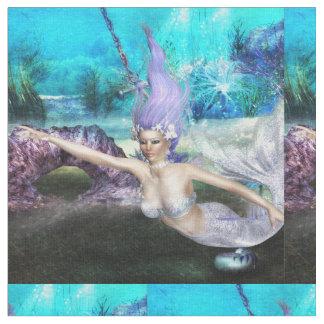 Mermaid Swimming Fabric