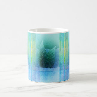 Mermaid Tail Abstract 2 Coffee Mug
