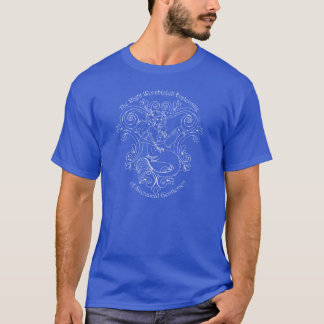 Mermaid Tavern (white outline) T-Shirt