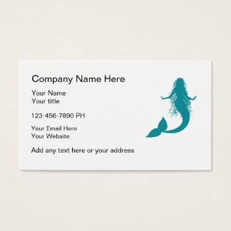 Mermaid Theme Business Cards