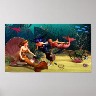 Mermaid Treasures Poster