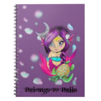 Mermaid Tribal Notebooks