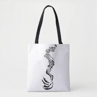 Mermaid Tribal Tote Bag
