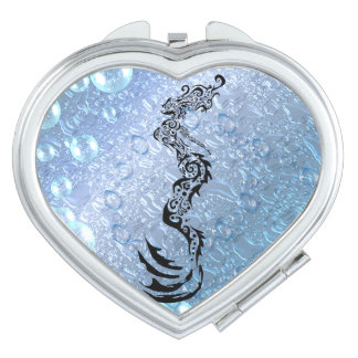 Mermaid Tribal Travel Mirrors