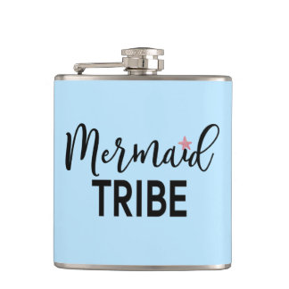 Mermaid Tribe Flask