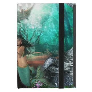Mermaid Twins iPad Mini Cover