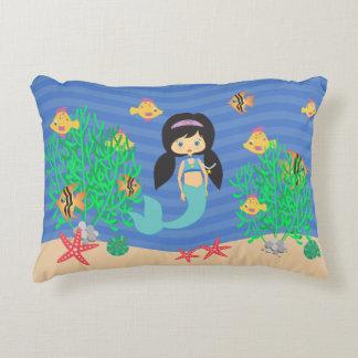 Mermaid Under The Sea Decorative Cushion