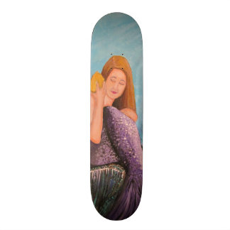 Mermaid Under The Sea Skate Board Decks