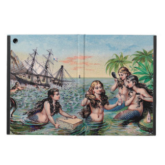 Mermaid Vintage Antique Magic Nautical iPad Air Case
