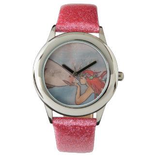 Mermaid w/ shark watch