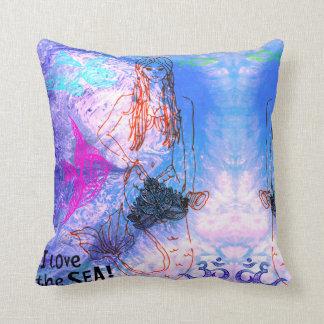 Mermaid Warrior Cushion