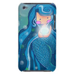 Mermaid with bright pearl iPod Touch Case-Mate