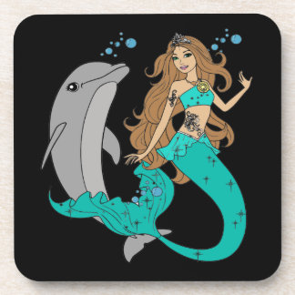 Mermaid with Dolphin Coaster