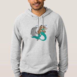 Mermaid with Dolphin Hoodie
