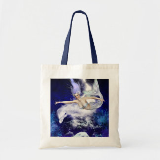 Mermaid with Dolphin  Small Bag