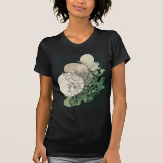 Mermaid with Lace and Seahorse T-Shirt