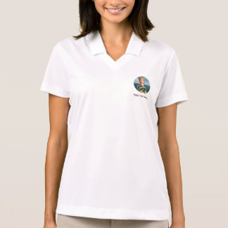Mermaid with Water Lily Flower Polo Shirts