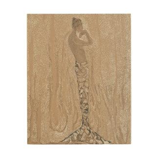Mermaid Wood Canvases