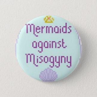 Mermaids Against Misandry 6 Cm Round Badge
