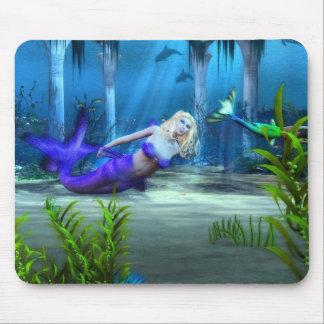 Mermaid's At Play Mouse Pad