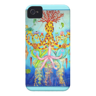 Mermaid's Chandelier iPhone 4 Cover
