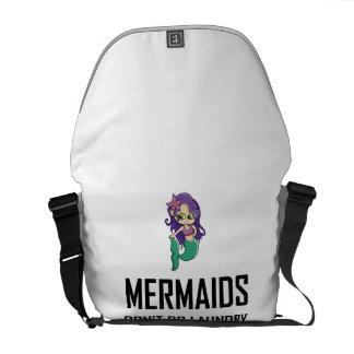 Mermaids Do Not Do Laundry Commuter Bag