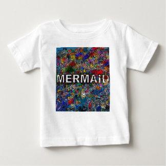 Mermaids Doodle Baby T-Shirt