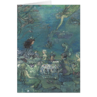 Mermaids & Fairies Tea Party - Card