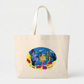 Mermaids From Around the World Tote Bag