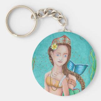 Mermaid's Garden Keychain