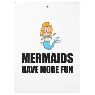 Mermaids Have More Fun Clipboard