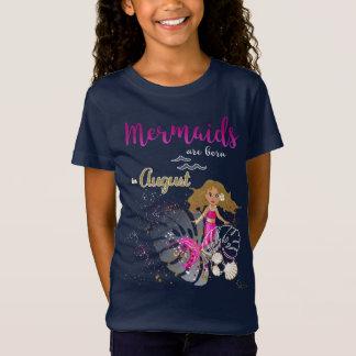 Mermaids of acres fount in August T-Shirt