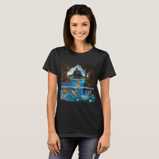MERMAIDS OF THE PIRATE CAVE T-Shirt