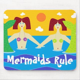 Mermaids Rule Mouse Pad