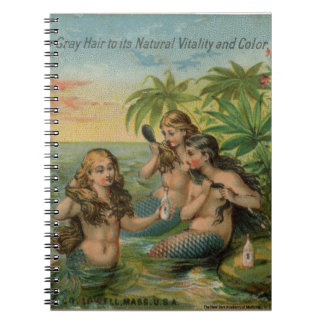 Mermaids Spiral Notebook