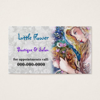 Mermaids template Business Card