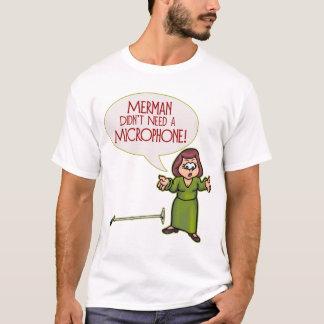 Merman/Microphone Mens Lite T-Shirt