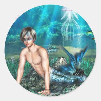 Merman Stickers