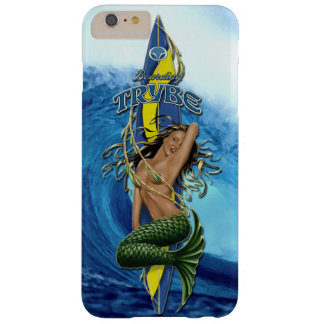 MerMarilyn Mermaid Surfboard Tropical Wave Barely There iPhone 6 Plus Case