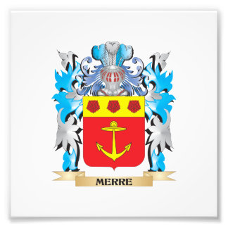 Merre Coat of Arms - Family Crest Photo Print
