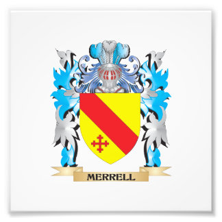 Merrell Coat of Arms - Family Crest Photograph