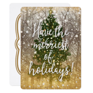 Merriest of Holiday Parties Card