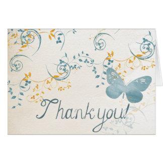MerriGlee 'Thank you!' Card