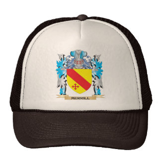 Merrill Coat of Arms - Family Crest Hats