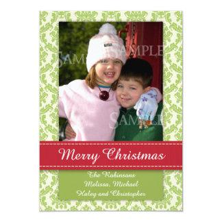 Merrry Christmas Photo Template Groupon Card