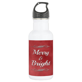 Merry and Bright 532 Ml Water Bottle