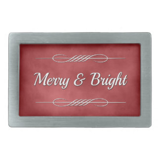 Merry and Bright Belt Buckles