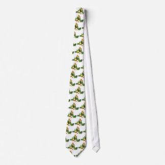 Merry and Bright Candles Tie